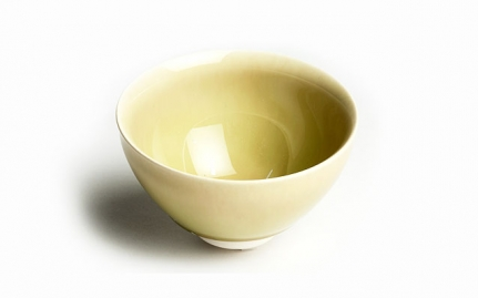 Λαδί πορσελάνινη κούπα με κρυστάλους Kengo