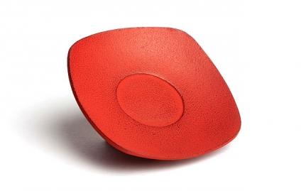 Κόκκινη μαντεμένια βάση κούπας Zen