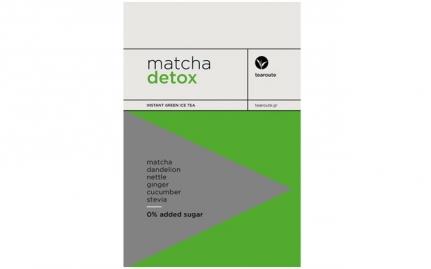 Matcha Detox 0% πρόσθετη ζάχαρη