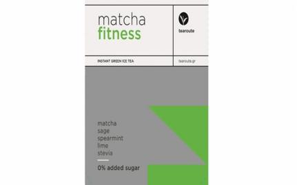 Matcha Fitness 0% πρόσθετη ζάχαρη