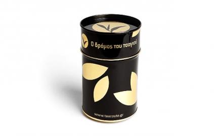 Μαύρο και χρυσό κουτί Ο Δρόμος του Τσαγιού 100 γρ.