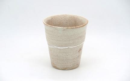 Μπεζ κεραμική κούπα Shizuoka
