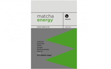Matcha Energy 0% added sugar