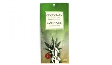 Σοκολάτα Cannabis 62% κακάο