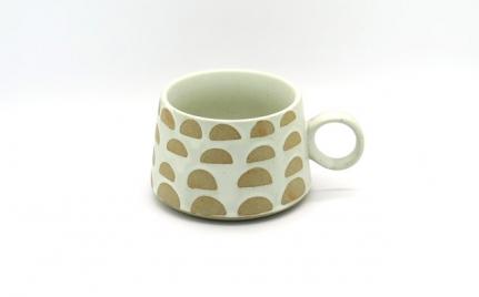 Στρογγυλή κεραμική κούπα mug Oliver A