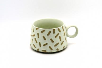 Στρογγυλή κεραμική κούπα mug Oliver B