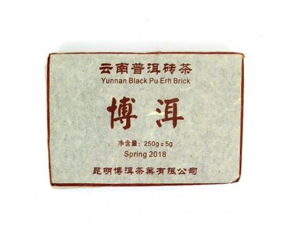 Black Puer Brick 2018 250γρ