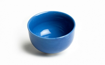 Blue ceramic cup Iroyo