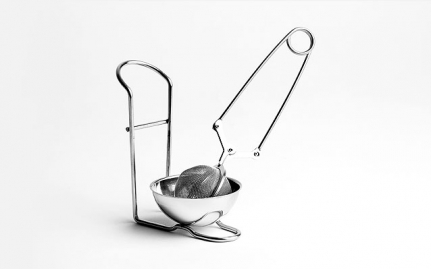 Stainless steel infuser Tea Tong