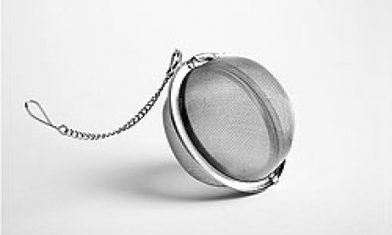 Stainless steel infuser Ball L