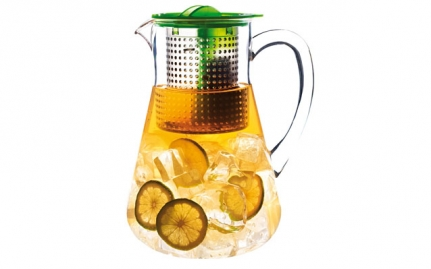 Ice tea pitcher, green