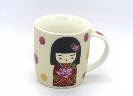 Mug Black-haired Geisha