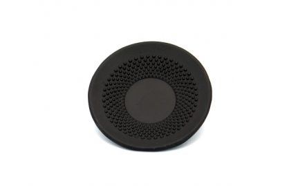 Black cast iron coaster Arare