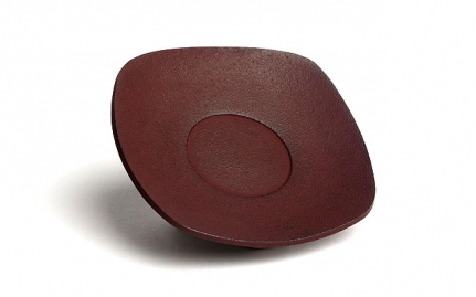 Bordeaux cast iron coaster Zen