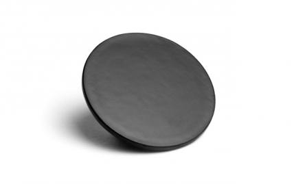 Στρογγυλή μαύρη βάση κούπας λάκα Shippo