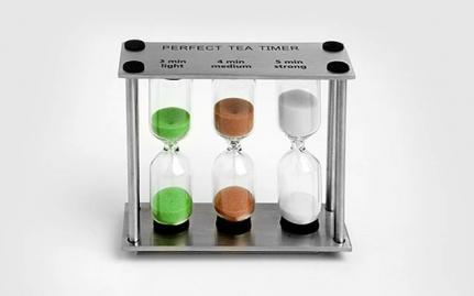 Triple tea timer